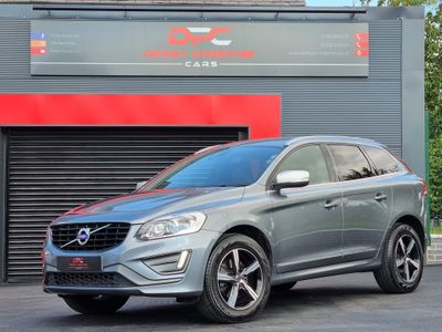 Volvo XC60 SUV 2.4 D5 R-Design Lux Nav Geartronic AWD (s/s) 5dr