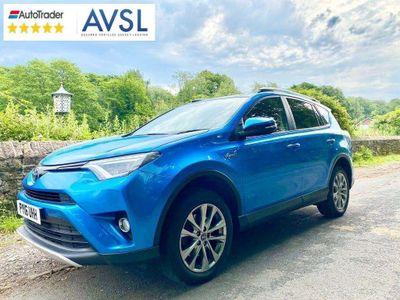 Toyota RAV4 SUV 2.5 VVT-h Excel CVT 4WD (s/s) 5dr