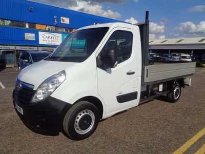 Vauxhall Movano Dropside 2.3 CDTi 3500 L2 FWD 2dr