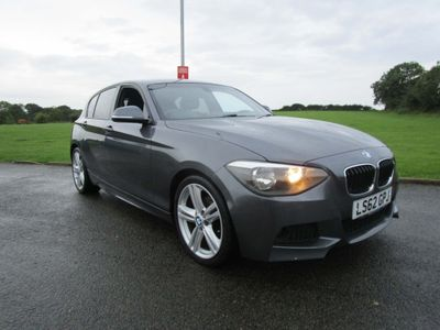 BMW 1 Series Hatchback 2.0 120d BluePerformance M Sport 5dr