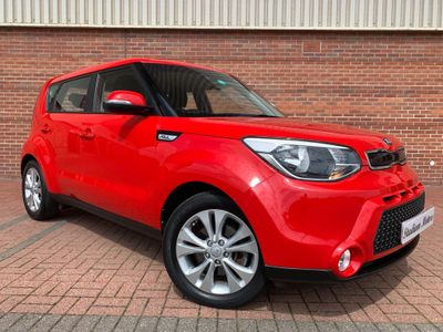 Kia Soul SUV 1.6 CRDi Connect Plus DCT 5dr