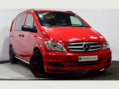 Mercedes-Benz Vito Combi Van 3.0 122CDI Dualiner Sport X Compact Panel Van SWB 5dr (EU5)