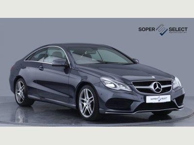 Mercedes-Benz E Class Coupe 3.0 E350 CDI BlueTEC AMG Sport 7G-Tronic Plus 2dr