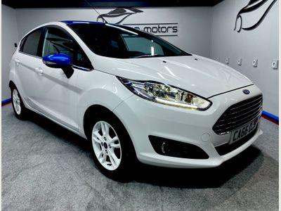 Ford Fiesta Hatchback 1.25 Zetec White Edition 5dr