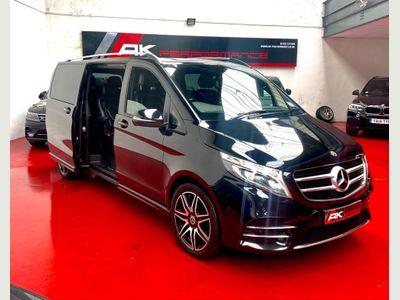 Mercedes-Benz V Class MPV 2.2 V250d AMG Line G-Tronic+ XLWB EU6 (s/s) 5dr 8 Seat XLWB