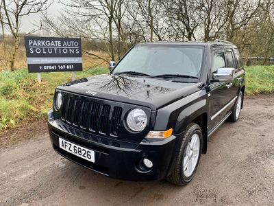 Jeep Patriot SUV 2.4 Limited CVT 4x4 5dr
