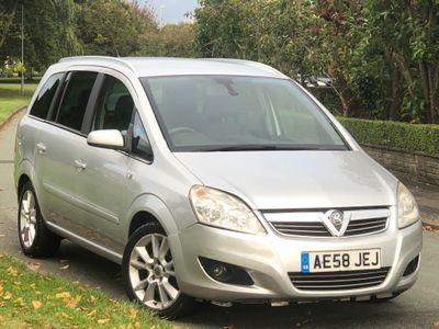 Vauxhall Zafira MPV 1.9 CDTi Design Auto 5dr