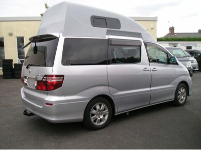 Toyota Alphard Unlisted Full camper conversion