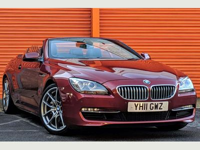 BMW 6 Series Convertible 4.4 650i SE 2dr