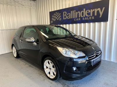 Citroen DS3 Hatchback 1.6 HDi Black 3dr