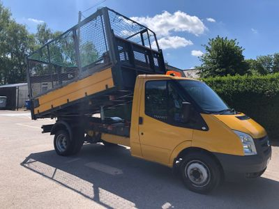 Ford Transit Tipper 2.4 Diesel Caged Tipper .