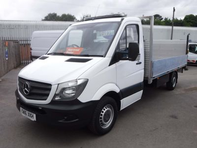 Mercedes-Benz Sprinter Dropside 2.1CDI 313 LWB 14FT Dropside / Tail lift