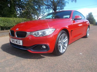 BMW 4 Series Coupe 2.0 418d Sport 2dr