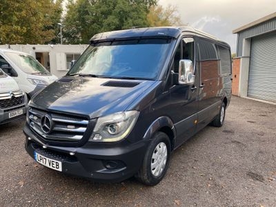 Mercedes-Benz Sprinter Panel Van 2.1 CDI 316 Panel Van 7G-Tronic 5dr (EU6, MWB)