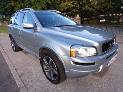 Volvo XC90 SUV 2.4 D5 R-Design Nav Geartronic 4WD 5dr