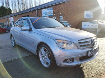 Mercedes-Benz C Class Saloon 3.0 C350 CDI BlueEFFICIENCY Elegance 7G-Tronic 4dr