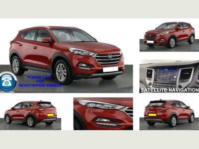 Hyundai TUCSON SUV 2.0 CRDi SE Nav Auto 4WD 5dr