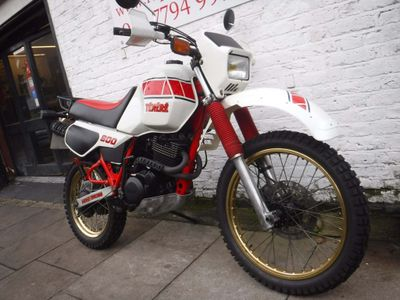 Yamaha XT600 Trail Bike 600