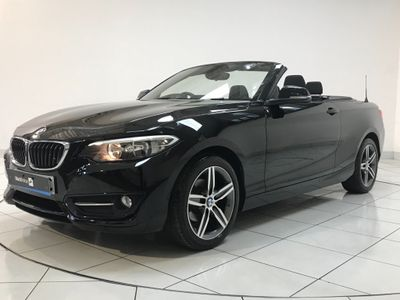 BMW 2 Series Convertible 1.5 218i Sport (s/s) 2dr
