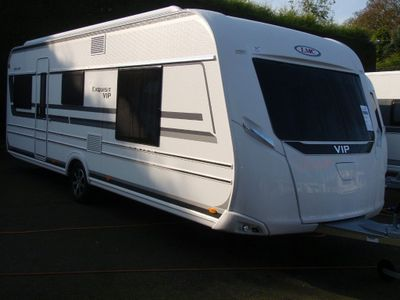 LMC 595 Vip Exquisit Tourer 4 BERTH,FIXED ISLAND BED WITH SEPARATE TOILET/SHOWER CUBICLE,RING FOR GOOD DEAL.