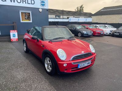 MINI Convertible Convertible 1.6 One 2dr
