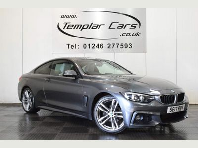 BMW 4 Series Coupe 2.0 420i M Sport (s/s) 2dr