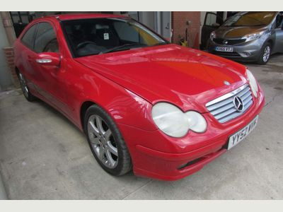 Mercedes-Benz C Class Coupe 1.8 C180 Kompressor SE 2dr