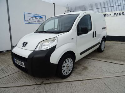 Peugeot Bipper Panel Van 1.4 HDi 8v Professional Panel Van 3dr