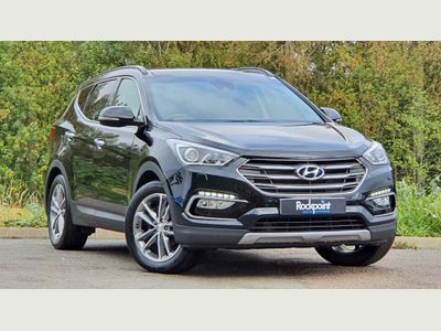 Hyundai Santa Fe SUV 2.2 CRDi Blue Drive Premium SE 4WD (s/s) 5dr (7 Seat)