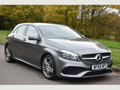 Mercedes-Benz A Class Hatchback 1.5 A180d AMG Line (Executive) (s/s) 5dr