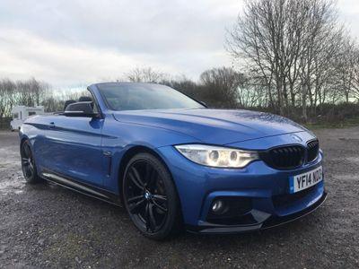 BMW 4 Series Convertible 2.0 420d M Sport Auto 2dr