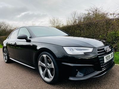 Audi A4 Saloon 2.0 TFSI 40 Black Edition S Tronic (s/s) 4dr
