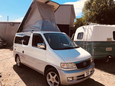Mazda BONGO 4 BERTH FULL SIDE CAMPER CONVERSION Motorhome 2.5 TD 4WD LOW MILES 88K