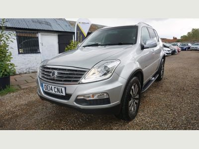 SsangYong Rexton SUV 2.0 TD EX T-Tronic 4x4 5dr