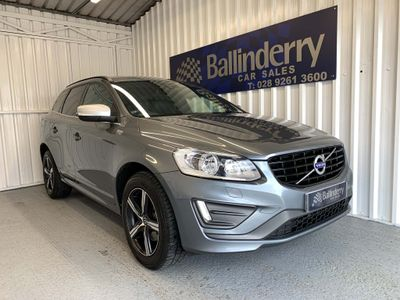 Volvo XC60 SUV 2.4 D5 R-Design Nav Geartronic AWD (s/s) 5dr