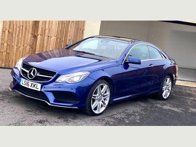 Mercedes-Benz E Class Coupe 2.1 E220 AMG Line Edition (Premium) 7G-Tronic Plus (s/s) 2dr
