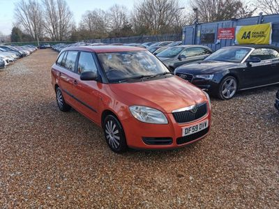 SKODA Fabia Estate 1.6 16v 1 Tiptronic 5dr