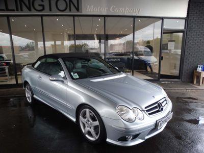 Mercedes-Benz CLK Convertible 3.0 CLK280 Sport Cabriolet 7G-Tronic 2dr