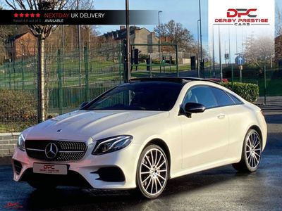 Mercedes-Benz E Class Coupe 3.0 E450 V6 AMG Line (Premium Plus) G-Tronic+ 4MATIC (s/s) 2dr