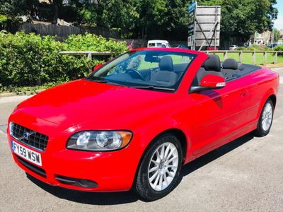 Volvo C70 Convertible 2.0 D Ice White 2dr
