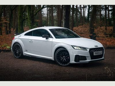Audi TTS Coupe 2.0 TFSI 50 Black Edition S Tronic quattro (s/s) 3dr