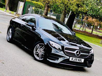 Mercedes-Benz E Class Coupe 2.0 E220d AMG Line G-Tronic+ (s/s) 2dr