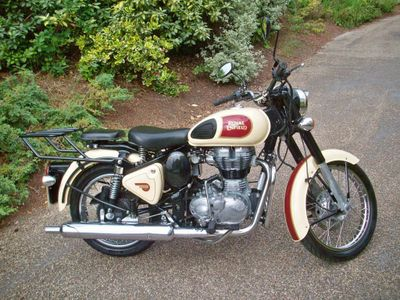 Royal Enfield Classic Chrome Naked 500