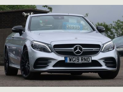 Mercedes-Benz C Class Convertible 3.0 C43 V6 AMG (Premium) Cabriolet G-Tronic+ 4MATIC (s/s) 2dr