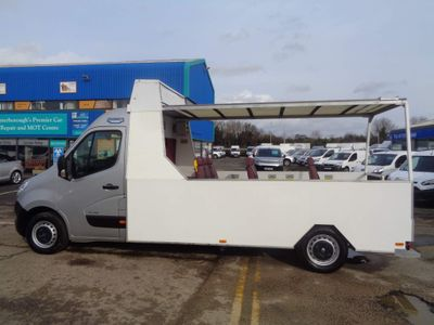 Renault Master Specialist Vehicle 2.3 DCI 125 FWD OPEN BACK / BESPOKE BUS