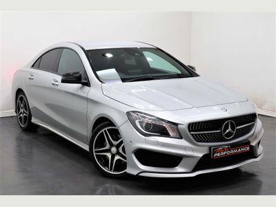Mercedes-Benz CLA Class Coupe 2.1 CLA220 AMG Sport 7G-DCT (s/s) 4dr