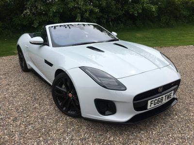 Jaguar F-Type Convertible 2.0i GPF R-Dynamic Auto (s/s) 2dr