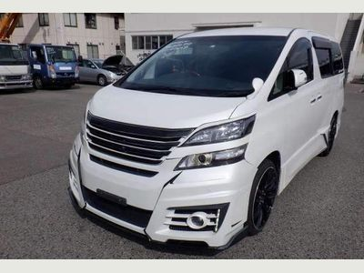 Toyota Vellfire MPV 2.4 8 SEATER ONE OFF MODIFIED IN UK