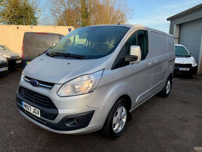 Ford Transit Custom Panel Van 2.0 280 EcoBlue Limited L1 H1 EU6 5dr