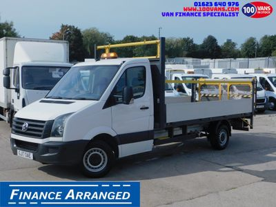 Volkswagen Crafter Dropside 2.0TDI 136PS CR36 LWB DROPSIDE TAIL LIFT